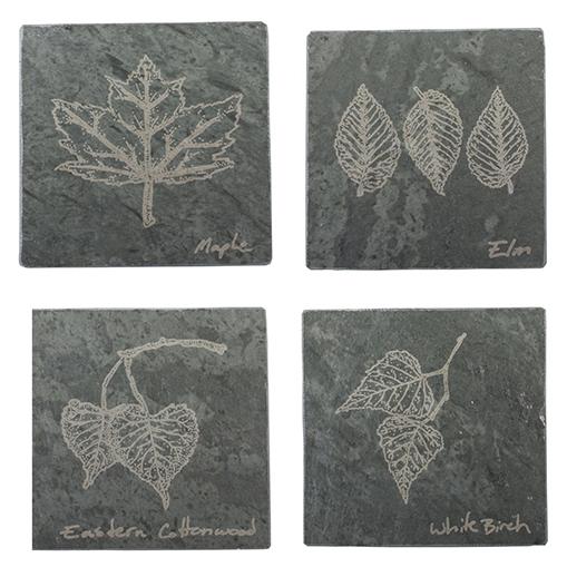 4 Coaster Set - Foliage of Vermont