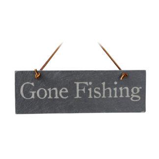 Slate Gone Fishing Sign – River Slate Co.