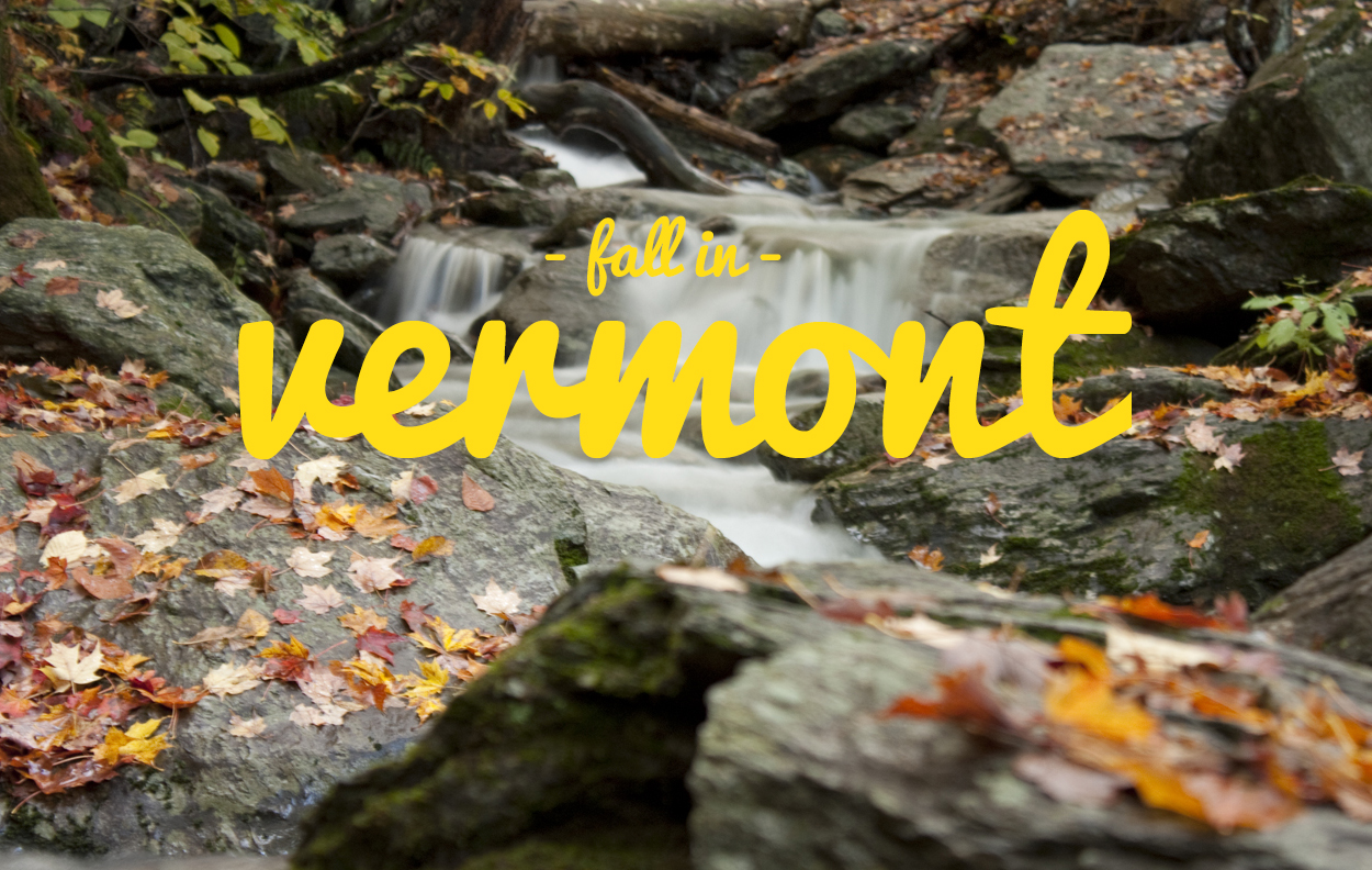 Fall foliage in Vermont – River Slate Co.