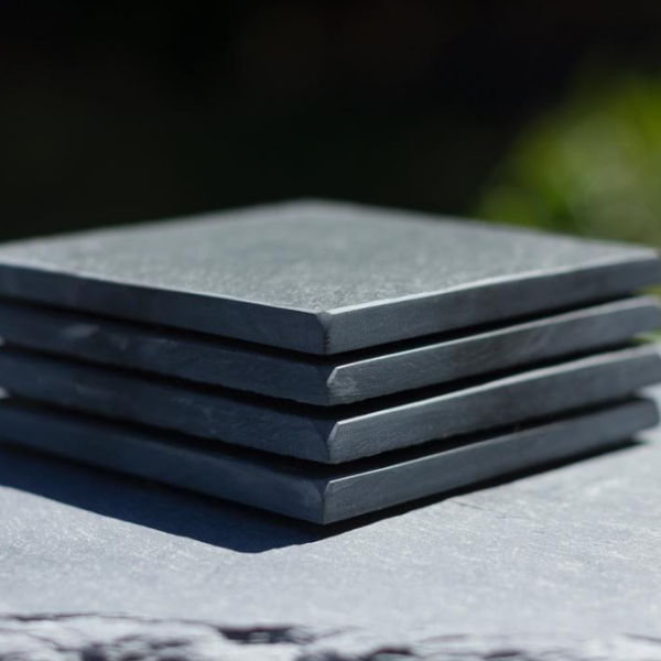 Set of 4 Coasters, Blank – River Slate Co.